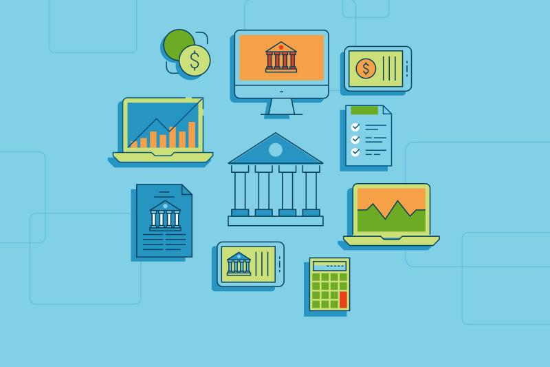Mortgage lender illustration