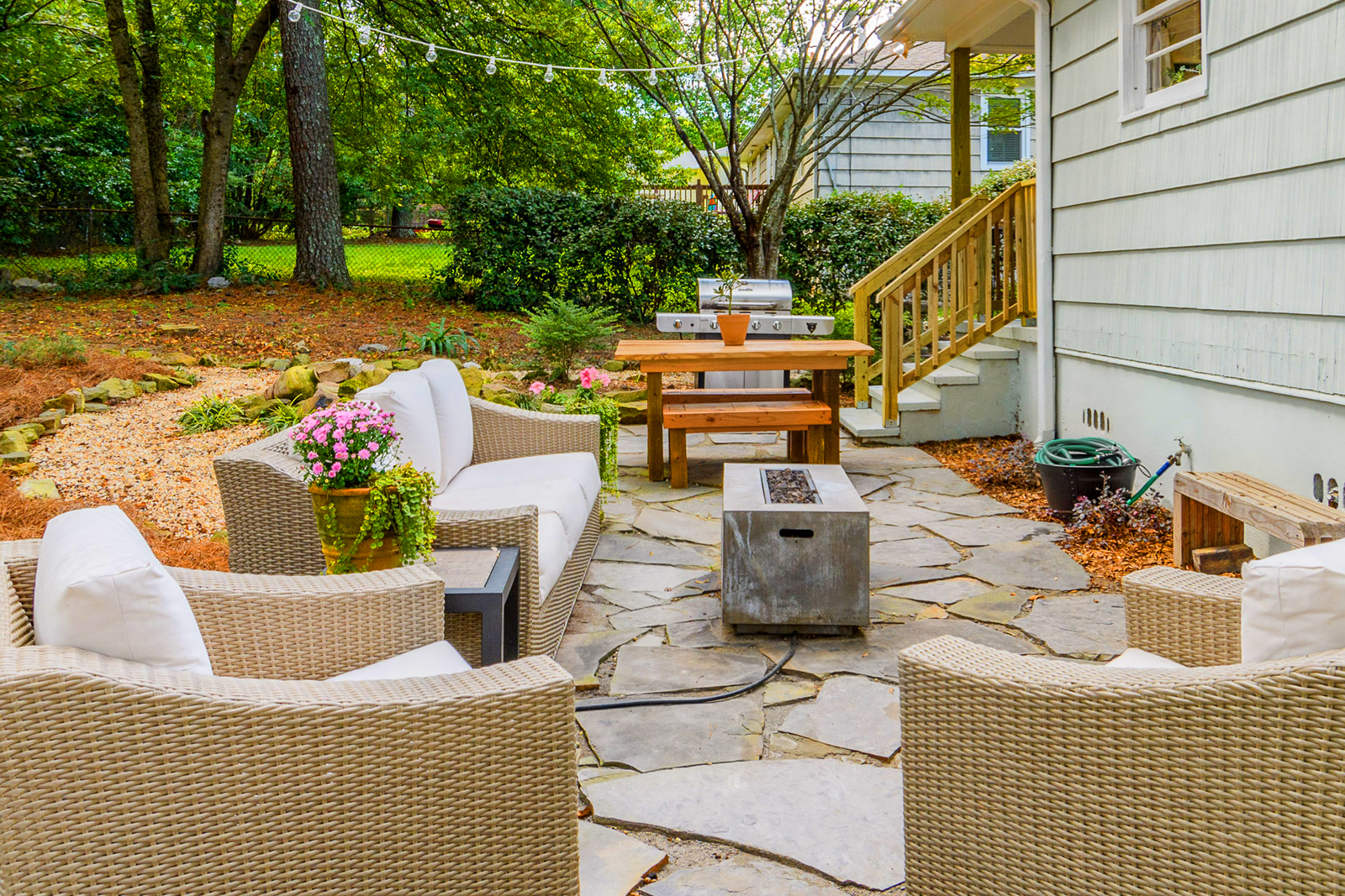 Backyard Before And After Makeover Ideas Small Backyard Landscaping
