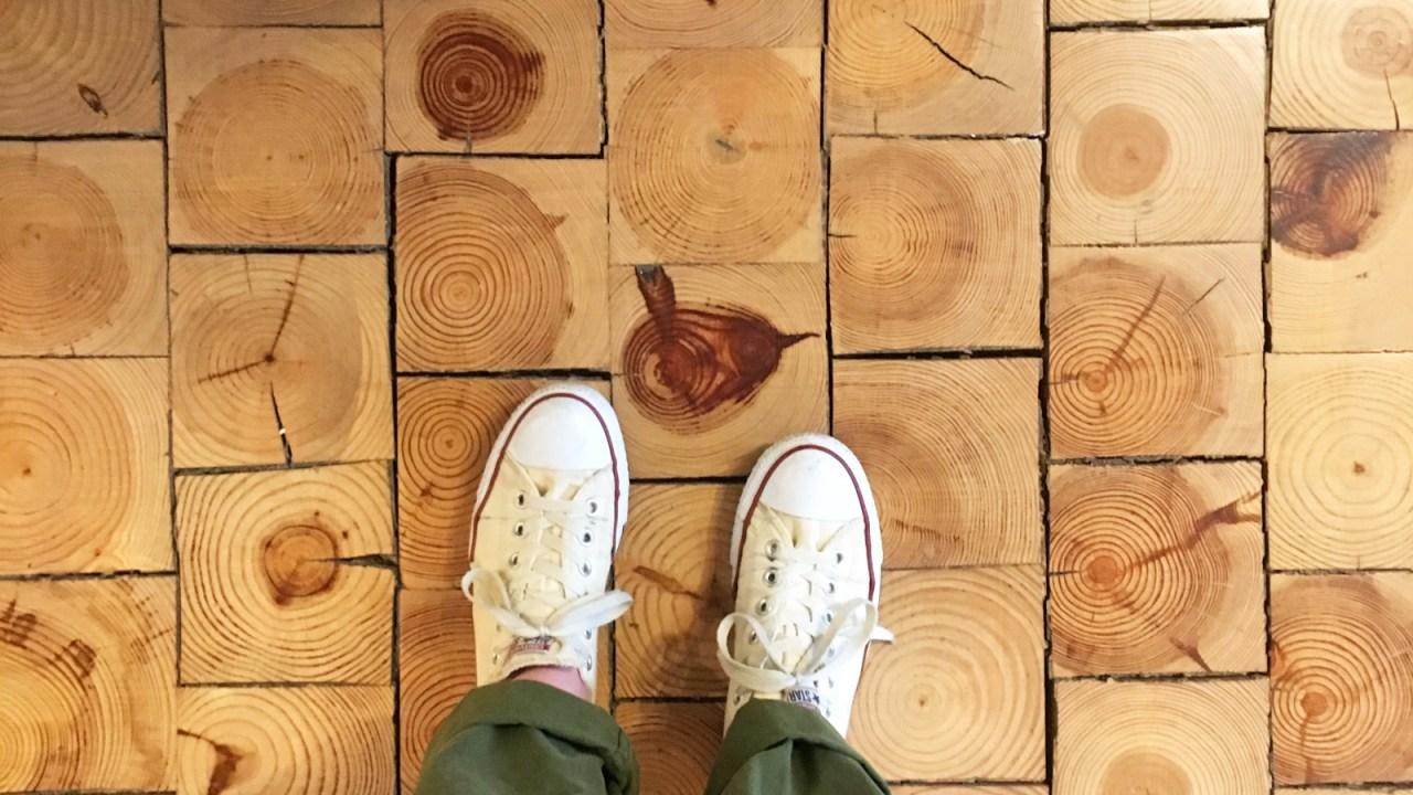 Creative Floor Ideas Like Cork Floors And Marmoleum