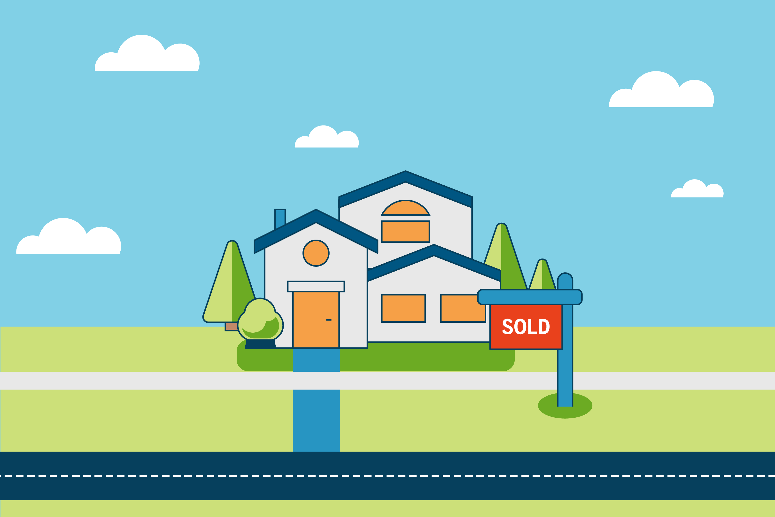 First-Time Home Seller's Guide illustration
