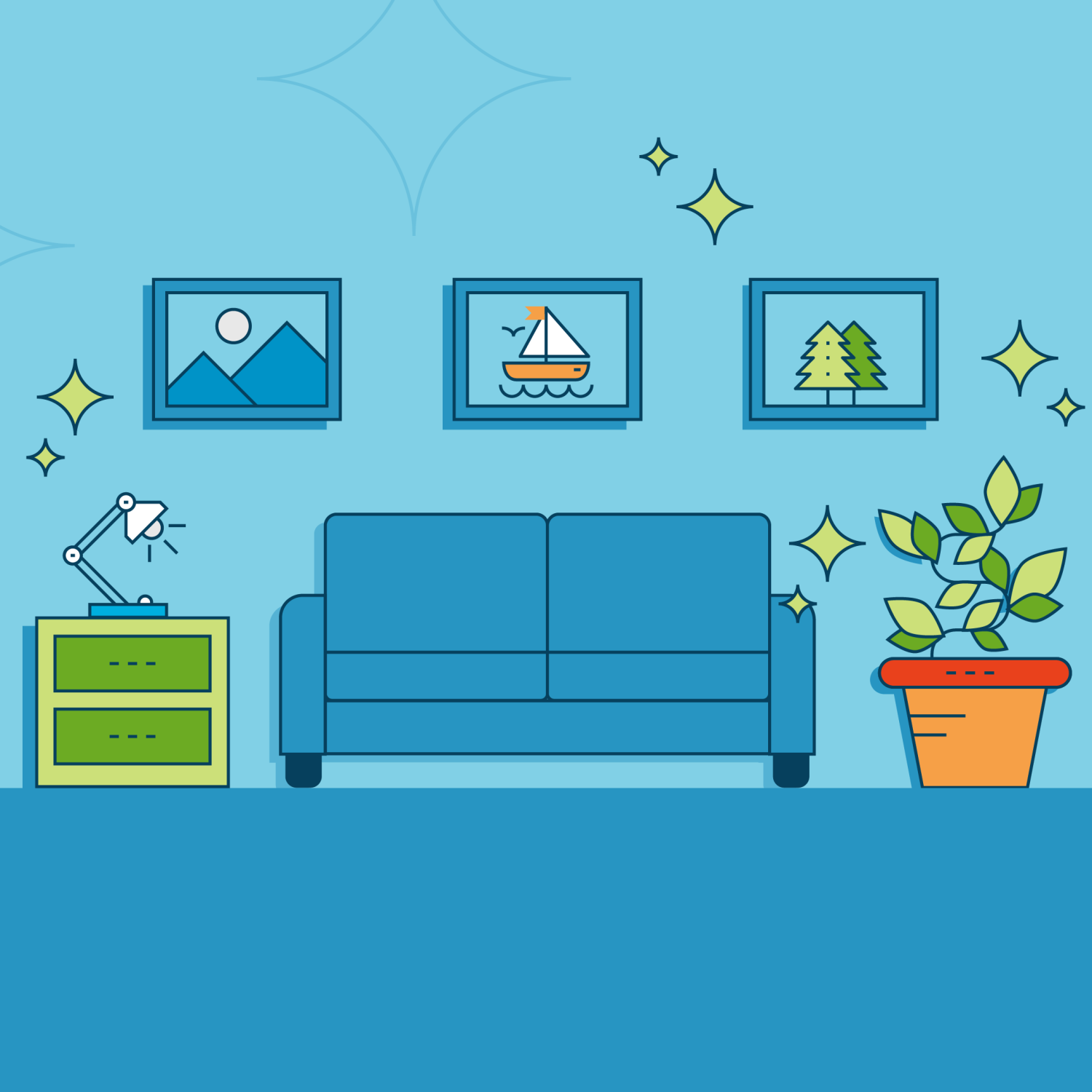 Staging Your Home illustration