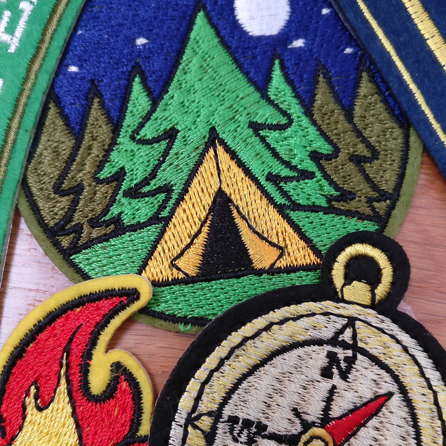 New homeowners merit badges