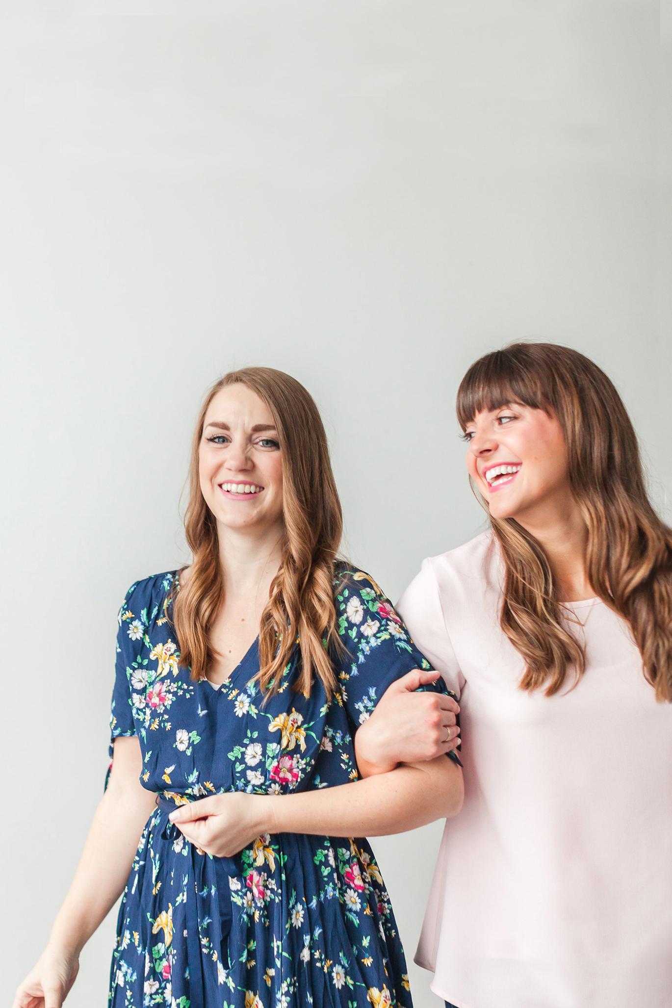 Sarah Skaggs and Jessica Burgess of Pretty Providence