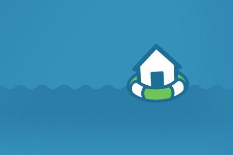 Natural disaster response infographic water