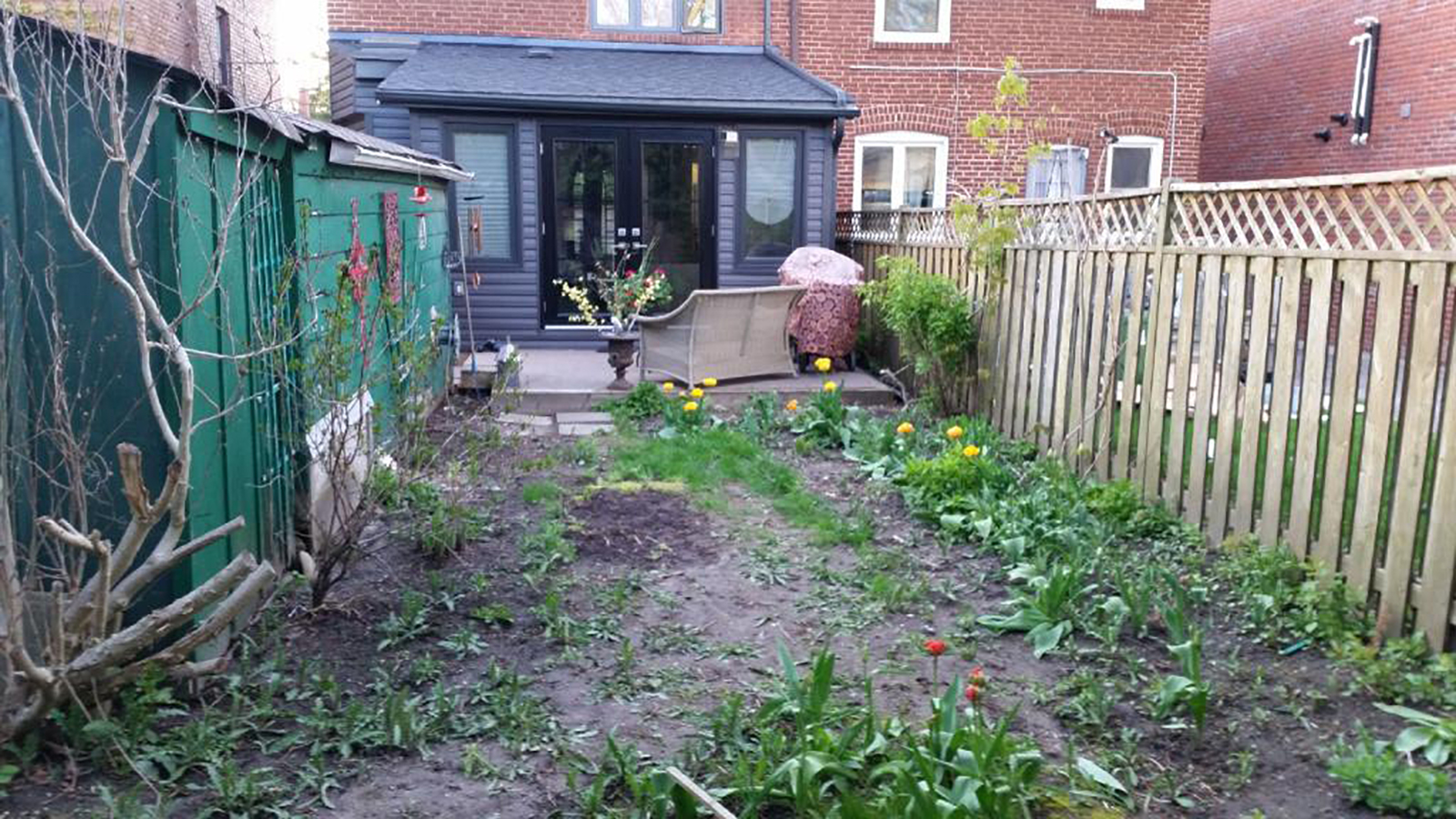 Backyard Makeover | Sloped Backyard Before and After ...