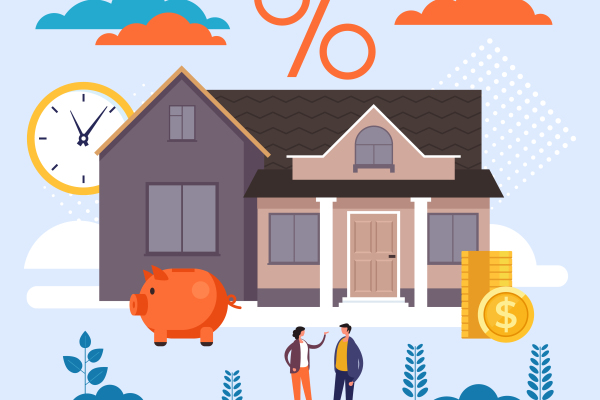 avoid mortgage mistakes house and percentage illustration